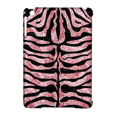 Skin2 Black Marble & Red & White Marble (r) Apple Ipad Mini Hardshell Case (compatible With Smart Cover) by trendistuff