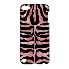 Skin2 Black Marble & Red & White Marble Apple Ipod Touch 5 Hardshell Case by trendistuff