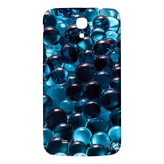 Blue Abstract Balls Spheres Samsung Galaxy Mega I9200 Hardshell Back Case by Amaryn4rt