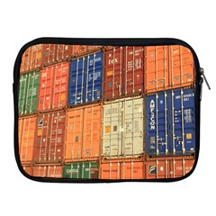 Blue White Orange And Brown Container Van Apple Ipad 2/3/4 Zipper Cases by Amaryn4rt