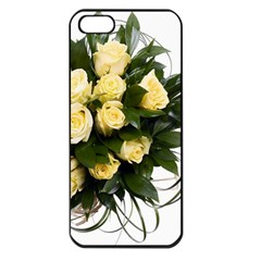 Bouquet Flowers Roses Decoration Apple Iphone 5 Seamless Case (black) by Amaryn4rt