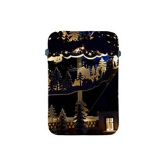 Christmas Advent Candle Arches Apple Ipad Mini Protective Soft Cases by Amaryn4rt