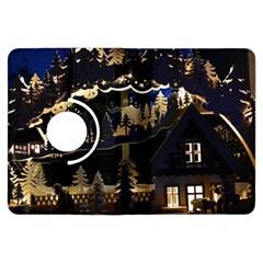 Christmas Advent Candle Arches Kindle Fire Hdx Flip 360 Case by Amaryn4rt