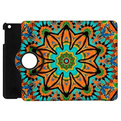 Color Abstract Pattern Structure Apple iPad Mini Flip 360 Case by Amaryn4rt