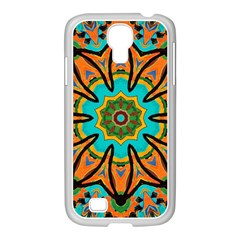 Color Abstract Pattern Structure Samsung Galaxy S4 I9500/ I9505 Case (white) by Amaryn4rt