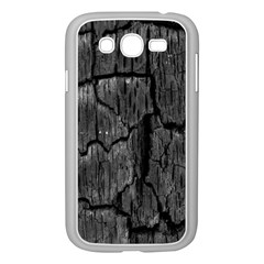 Coal Charred Tree Pore Black Samsung Galaxy Grand Duos I9082 Case (white)
