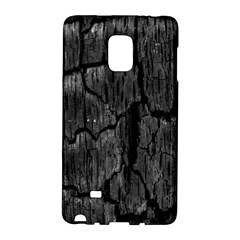 Coal Charred Tree Pore Black Galaxy Note Edge