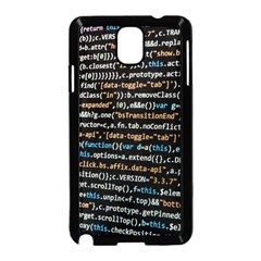 Close Up Code Coding Computer Samsung Galaxy Note 3 Neo Hardshell Case (black) by Amaryn4rt