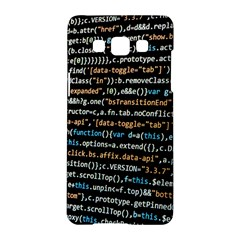 Close Up Code Coding Computer Samsung Galaxy A5 Hardshell Case