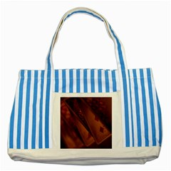 Card Game Mood The Tarot Striped Blue Tote Bag by Amaryn4rt