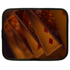 Card Game Mood The Tarot Netbook Case (xxl)  by Amaryn4rt