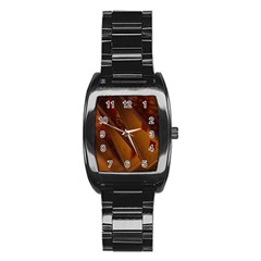 Card Game Mood The Tarot Stainless Steel Barrel Watch by Amaryn4rt