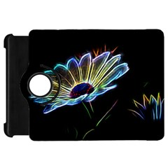 Flower Pattern Design Abstract Background Kindle Fire Hd 7  by Amaryn4rt