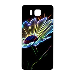 Flower Pattern Design Abstract Background Samsung Galaxy Alpha Hardshell Back Case by Amaryn4rt