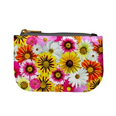 Flowers Blossom Bloom Nature Plant Mini Coin Purses