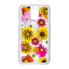 Flowers Blossom Bloom Nature Plant Samsung Galaxy S5 Case (white) by Amaryn4rt