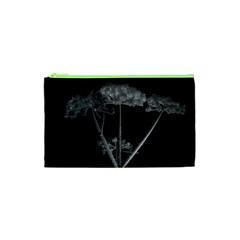 Dog Tube White Night Dark Ice Cosmetic Bag (xs) by Amaryn4rt