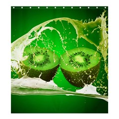 Kiwi Fruit Vitamins Healthy Cut Shower Curtain 66  X 72  (large)  by Amaryn4rt