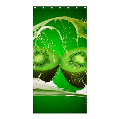 Kiwi Fruit Vitamins Healthy Cut Shower Curtain 36  X 72  (stall)  by Amaryn4rt