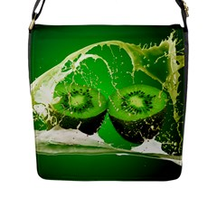 Kiwi Fruit Vitamins Healthy Cut Flap Messenger Bag (l)  by Amaryn4rt