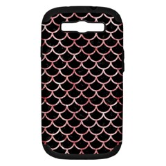 SCA1 BK-RW MARBLE Samsung Galaxy S III Hardshell Case (PC+Silicone) by trendistuff