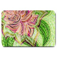 Colorful Design Acrylic Large Doormat  by Amaryn4rt