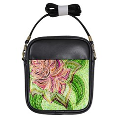 Colorful Design Acrylic Girls Sling Bags by Amaryn4rt