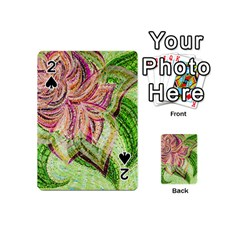 Colorful Design Acrylic Playing Cards 54 (mini)  by Amaryn4rt