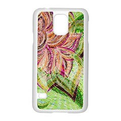Colorful Design Acrylic Samsung Galaxy S5 Case (white) by Amaryn4rt