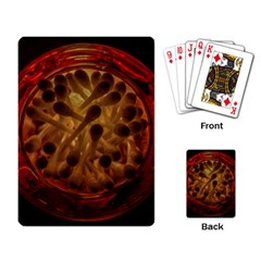 Light Picture Cotton Buds Playing Card by Amaryn4rt