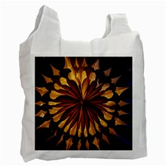 Light Star Lighting Lamp Recycle Bag (one Side) by Amaryn4rt