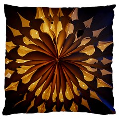Light Star Lighting Lamp Large Flano Cushion Case (two Sides) by Amaryn4rt