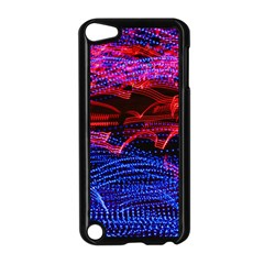 Lights Abstract Curves Long Exposure Apple Ipod Touch 5 Case (black) by Amaryn4rt