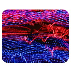 Lights Abstract Curves Long Exposure Double Sided Flano Blanket (medium)  by Amaryn4rt