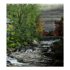 Landscape Summer Fall Colors Mill Shower Curtain 66  X 72  (large)  by Amaryn4rt