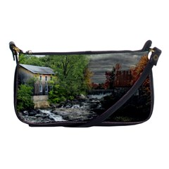 Landscape Summer Fall Colors Mill Shoulder Clutch Bags by Amaryn4rt