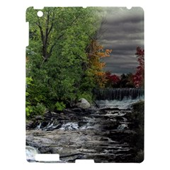 Landscape Summer Fall Colors Mill Apple Ipad 3/4 Hardshell Case by Amaryn4rt