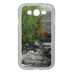 Landscape Summer Fall Colors Mill Samsung Galaxy Grand Duos I9082 Case (white) by Amaryn4rt