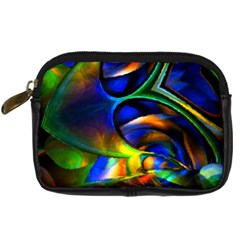 Light Texture Abstract Background Digital Camera Cases by Amaryn4rt