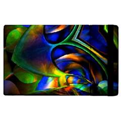Light Texture Abstract Background Apple Ipad 2 Flip Case by Amaryn4rt