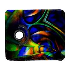 Light Texture Abstract Background Galaxy S3 (flip/folio)