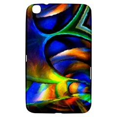 Light Texture Abstract Background Samsung Galaxy Tab 3 (8 ) T3100 Hardshell Case  by Amaryn4rt