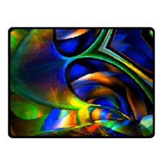 Light Texture Abstract Background Double Sided Fleece Blanket (Small)  by Amaryn4rt