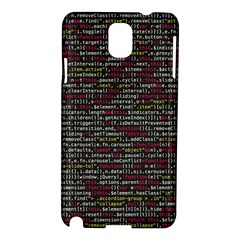 Full Frame Shot Of Abstract Pattern Samsung Galaxy Note 3 N9005 Hardshell Case by Amaryn4rt