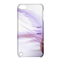 Ring Feather Marriage Pink Gold Apple Ipod Touch 5 Hardshell Case With Stand by Amaryn4rt
