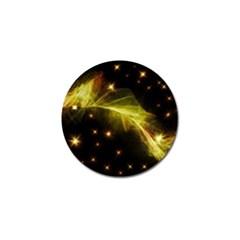 Particles Vibration Line Wave Golf Ball Marker