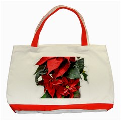 Star Of Bethlehem Star Red Classic Tote Bag (red) by Amaryn4rt