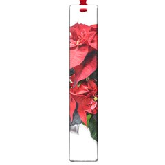 Star Of Bethlehem Star Red Large Book Marks by Amaryn4rt