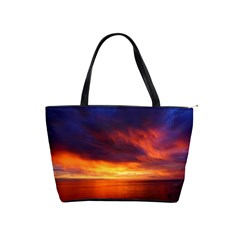 Sunset The Pacific Ocean Evening Shoulder Handbags by Amaryn4rt