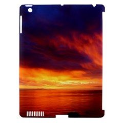 Sunset The Pacific Ocean Evening Apple Ipad 3/4 Hardshell Case (compatible With Smart Cover) by Amaryn4rt